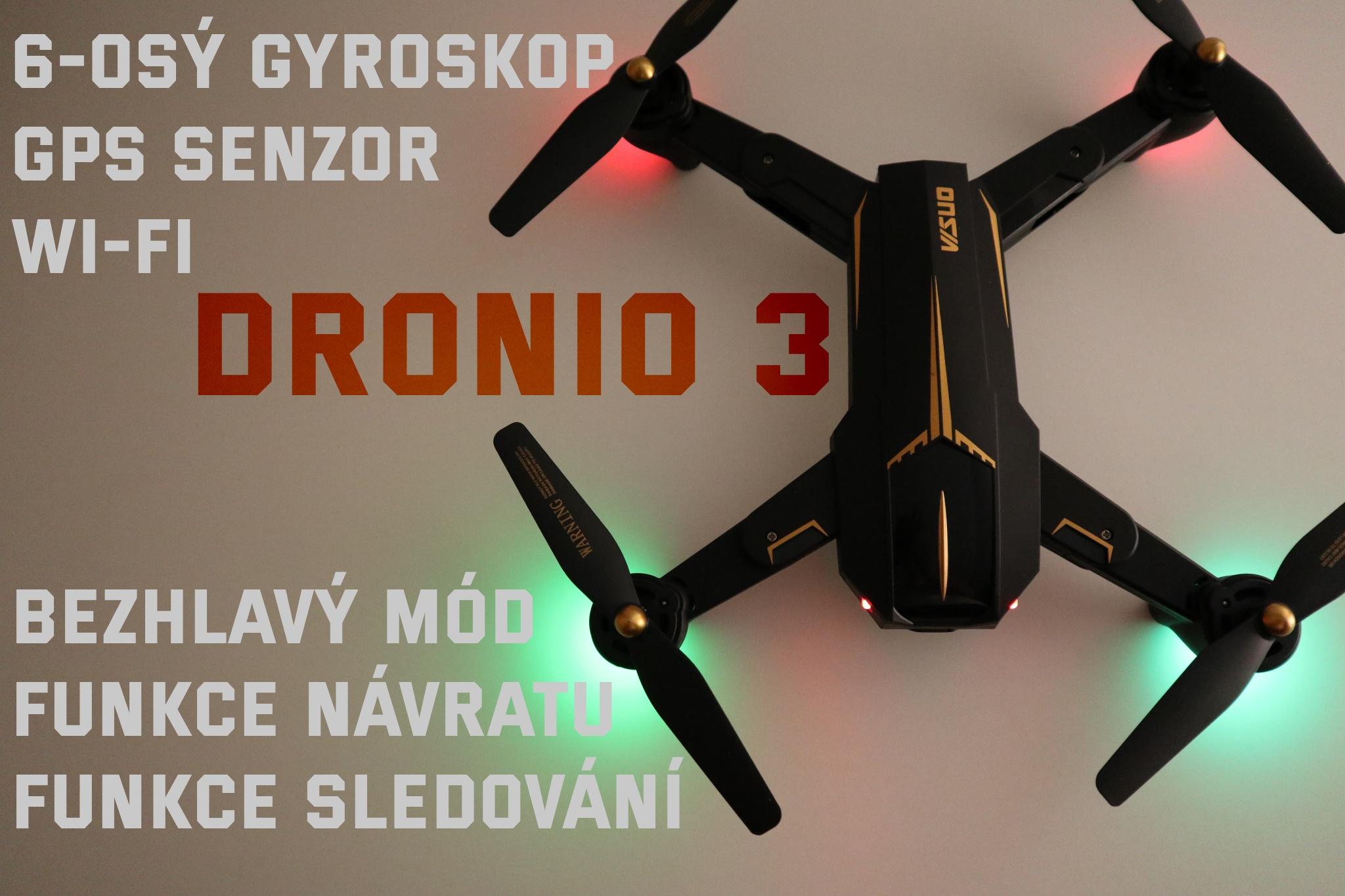 Dronio3 funkce