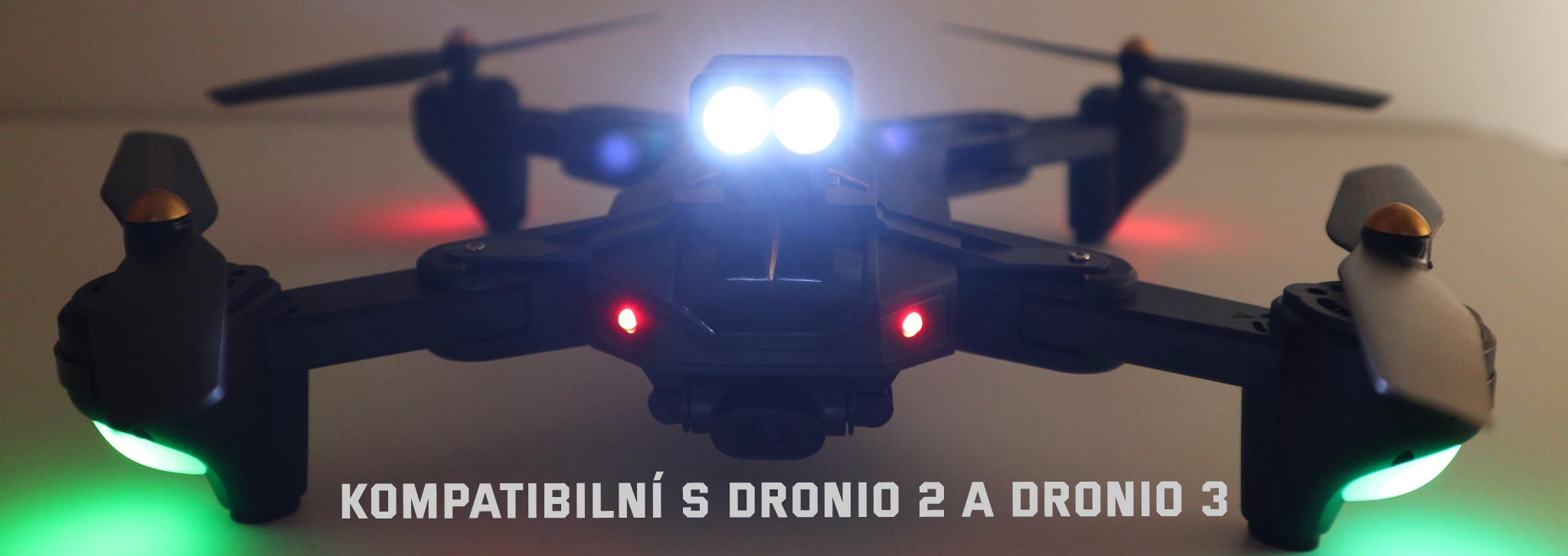 Svítilna pro drony Dronio 2 a Dronio 3